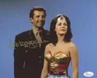 "Lyle Waggoner Signed ""Wonder Woman"" 8x10 Photo (JSA COA) at PristineAuction.com"