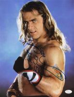 "Shawn Michaels Signed WWE 11x14 Photo Inscribed ""HBK"" (JSA COA)"