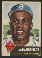 1953 Topps #1 Jackie Robinson