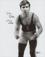"Dan Gable Signed 8x10 Photo Inscribed ""Iowa State"" (Beckett COA)"
