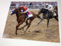 Mike E. Smith Signed 16x20 Photo with Extensive Inscription (Steiner COA) at PristineAuction.com