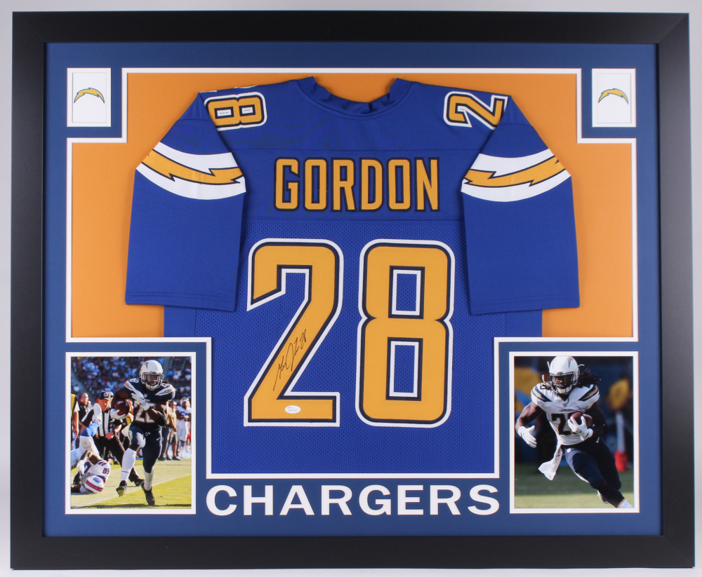 Melvin Gordon Signed Chargers 35x43 Custom Framed Jersey (JSA COA) at  PristineAuction.com 223a350dc