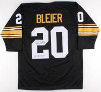 "Rocky Bleier Signed Steelers Jersey Inscribed ""4x SB Champs"" (TSE COA)"
