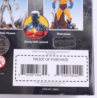 """Stan Lee Signed """"Captain Marvel Select"""" Marvel Select Action Figure (Radtke COA & Lee Hologram) at PristineAuction.com"""