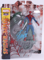 "Stan Lee Signed ""Spider-Man"" Marvel Select Action Figure (Lee Hologram & Radtke COA) at PristineAuction.com"