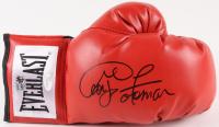George Foreman Signed Everlast Boxing Glove (JSA COA & Foreman Hologram)
