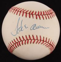 Hank Aaron Signed ONL Baseball (JSA LOA)