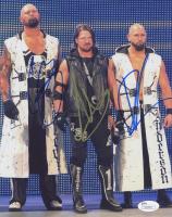 A.J. Styles, Luke Gallows & Karl Anderson Signed WWE 8x10 Photo (JSA COA)