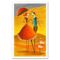 "Ester Myatlov Signed ""Serenade"" Limited Edition 9x14 Serigraph at PristineAuction.com"