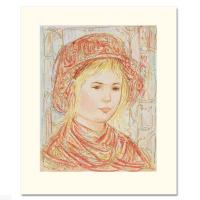 "Edna Hibel Signed ""Liv"" Limited Edition 12x14 Serigraph (PA LOA) at PristineAuction.com"