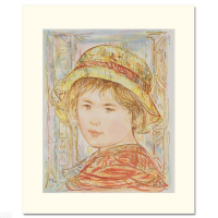 """Edna Hibel Signed """"Lemual"""" Limited Edition 12x14 Serigraph (PA LOA) at PristineAuction.com"""