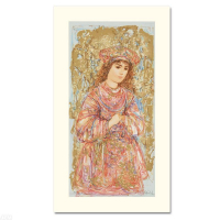 "Edna Hibel Signed ""Book of Hours I"" Limited Edition 11x19 Serigraph at PristineAuction.com"