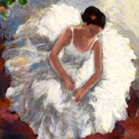 "Hedva Ferenci Signed ""Prima Ballerina"" Limited Edition 18x22 Serigraph at PristineAuction.com"