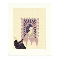 "Erte Signed ""La Serenade"" Limited Edition 16x20 Serigraph"