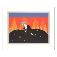 "Erte Signed ""Memories"" Limited Edition 31x26 Serigraph at PristineAuction.com"