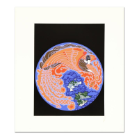 """Erte Signed """"Dream Voyage"""" Limited Edition 21x24 Serigraph at PristineAuction.com"""