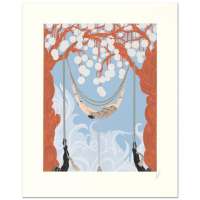 "Erte Signed ""Spider Web"" Limited Edition 17x22 Serigraph at PristineAuction.com"