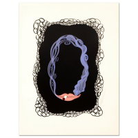 "Erte Signed ""Numeral 0"" Limited Edition 17x22 Serigraph at PristineAuction.com"