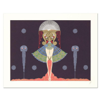 "Erte Signed ""Salome"" Limited Edition 26x21 Serigraph at PristineAuction.com"