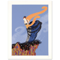 "Erte Signed ""Summer Breeze"" Limited Edition 23x30 Serigraph at PristineAuction.com"