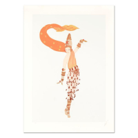 "Erte Signed ""Arabian Nights"" Limited Edition 29x40 Serigraph at PristineAuction.com"