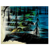 "Eyvind Earle Signed ""Beauty Beyond Believing"" Limited Edition 36x45 Serigraph on Paper at PristineAuction.com"