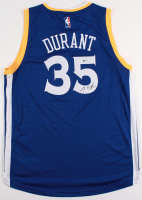Kevin Durant Signed Warriors Jersey (Beckett COA)