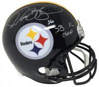 "Jerome Bettis Signed Steelers Full-Size Helmet Inscribed ""SB XL Champ"" (JSA COA)"