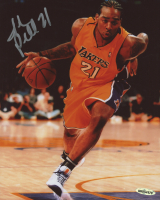 Josh Powell Signed Lakers 8x10 Photo (UDA COA) at PristineAuction.com