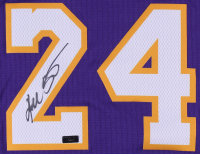 Kobe Bryant Signed Lakers Adidas Swingman Jersey (Panini COA) at PristineAuction.com