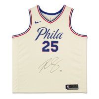 Ben Simmons Signed Philadelphia 76ers City Edition Jersey (UDA COA) at PristineAuction.com