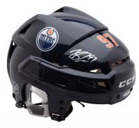 Connor McDavid Signed Edmonton Oilers Helmet (UDA COA) at PristineAuction.com