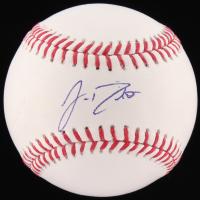 J.T. Realmuto Signed OML Baseball (JSA COA)