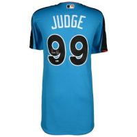 Aaron Judge Signed Majestic New York Yankees 2017 All-Star Game Jersey (Fanatics Hologram & MLB Hologram) at PristineAuction.com