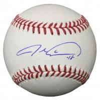 Jacob deGrom Signed OML Baseball (Beckett COA)