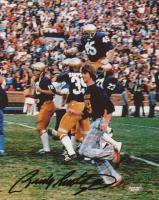 Rudy Ruettiger Signed Notre Dame Fighting Irish 8x10 Photo (Schwartz COA)