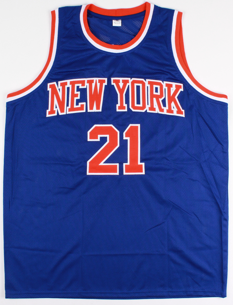 740c8df0ddd Charlie Ward Signed Knicks Jersey Inscribed