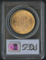 1895 $20 Liberty Head Double Eagle Gold Coin (PCGS MS 62) at PristineAuction.com