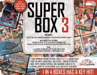 """Super Box 3""- Sportscards.com Premium Sports Card Mystery Box!"