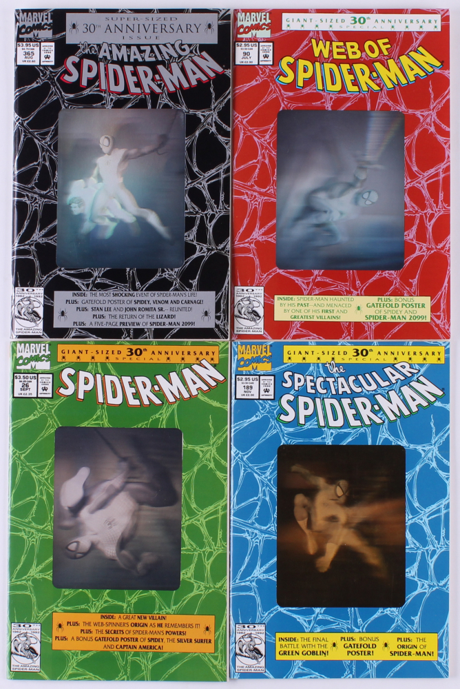 Spiderman # 26 USA, 1992 52 pages 30th anniversary special with silver holo