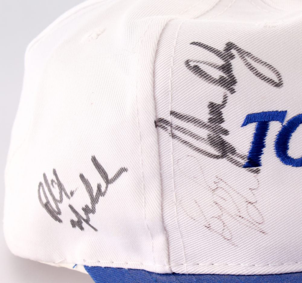 Top Flite Golf Hat Signed by (5) Including Phil Mickelson   John Daly ( 40af68d9c9a