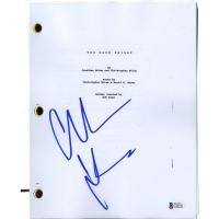 "Christian Bale Signed Batman ""The Dark Knight"" Script (Beckett COA)"