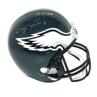 "Nick Foles Signed Eagles Full Size Helmet Inscribed ""SB LII MVP"" (Steiner COA & Fanatics)"