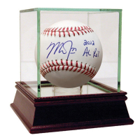 """Mike Trout Signed Baseball Inscribed """"2012 AL ROY"""" (Steiner COA)"""