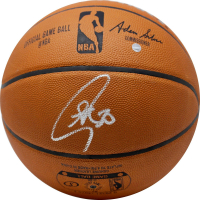 Stephen Curry Signed Spalding Basketball (Steiner COA)