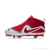 Mike Trout Signed Nike Force Zoom T Metal Cleat (Steiner COA & MLB)