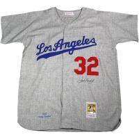 Sandy Koufax Signed Dodgers Jersey (Steiner COA)