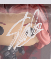 "Stan Lee Signed ""Black Widow"" #132 Captain America Civil War Marvel Bobble-Head Funko Pop Vinyl Figure (Lee Hologram & Radtke Hologram) at PristineAuction.com"