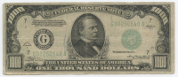 1934-A $1000 One Thousand Dollars Federal Reserve Note