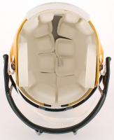 Aaron Rodgers & Brett Favre Signed Packers Full-Size Helmet (Fanatics Hologram & Radtke COA) at PristineAuction.com